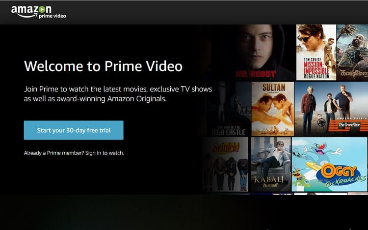 Prime Video Libary