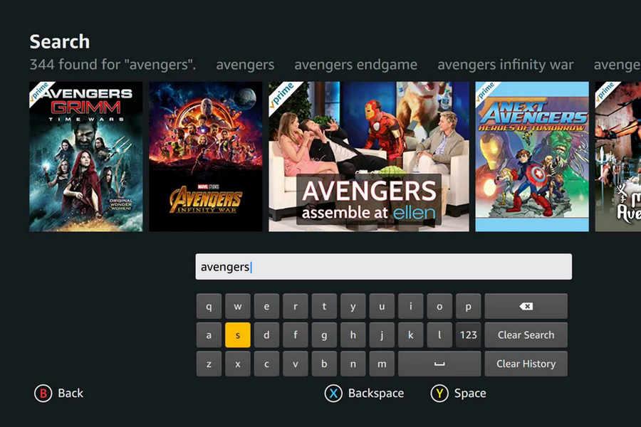 Search Movies On Amazon Prime