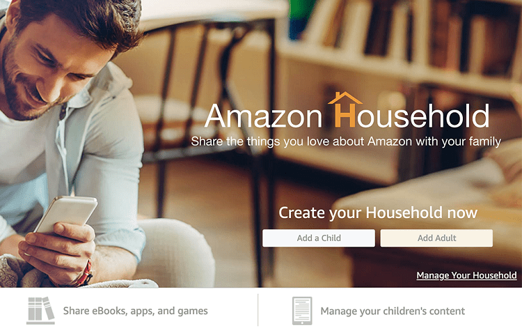 amazon household setup