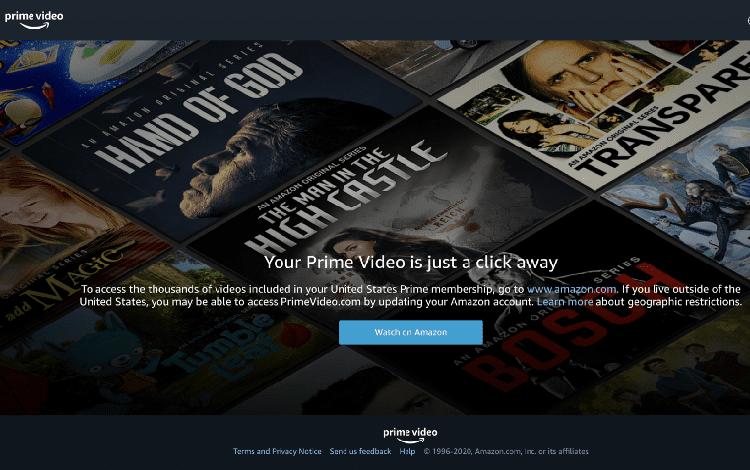 movies on amazon prime