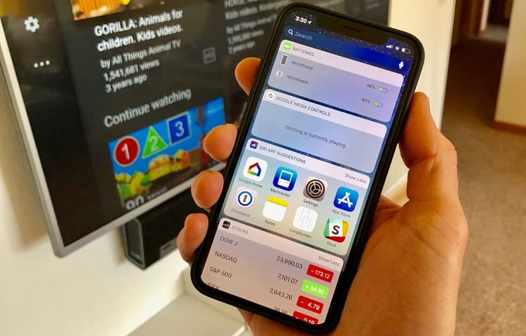 google home app on iphone