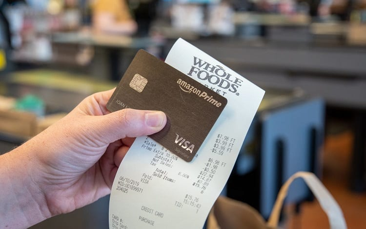 buying with amazon prime card