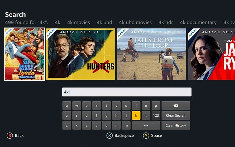 search movies on tv