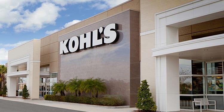 Kohls homepage